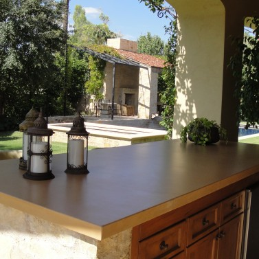 Outdoor Concrete Countertop, Scottsdale