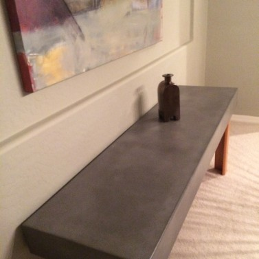 Concrete Side Table, Scottsdale
