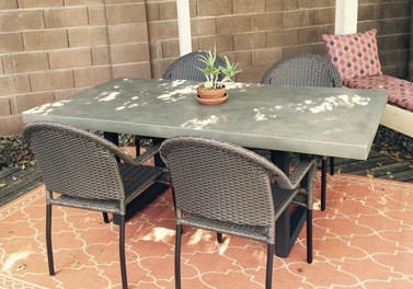 Concrete Patio Tables