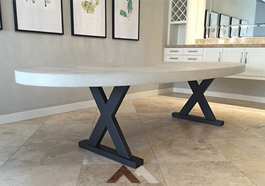 Concrete Kitchen Tables